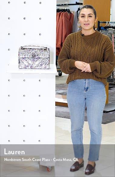London Kensington Embroidered Sequin Shoulder Bag, sales video thumbnail