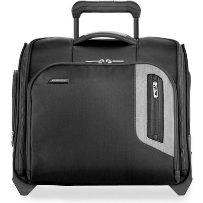 Briggs & Riley Brx Explore Wheeled Cabin Bag - Black