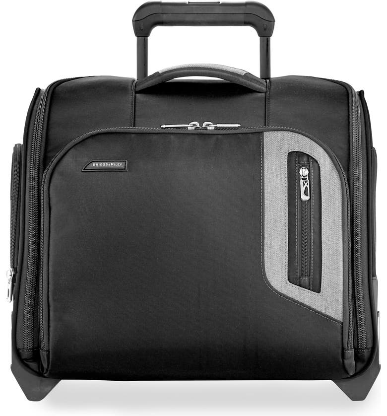 BRIGGS & RILEY BRX Explore Wheeled Cabin Bag, Main, color, BLACK
