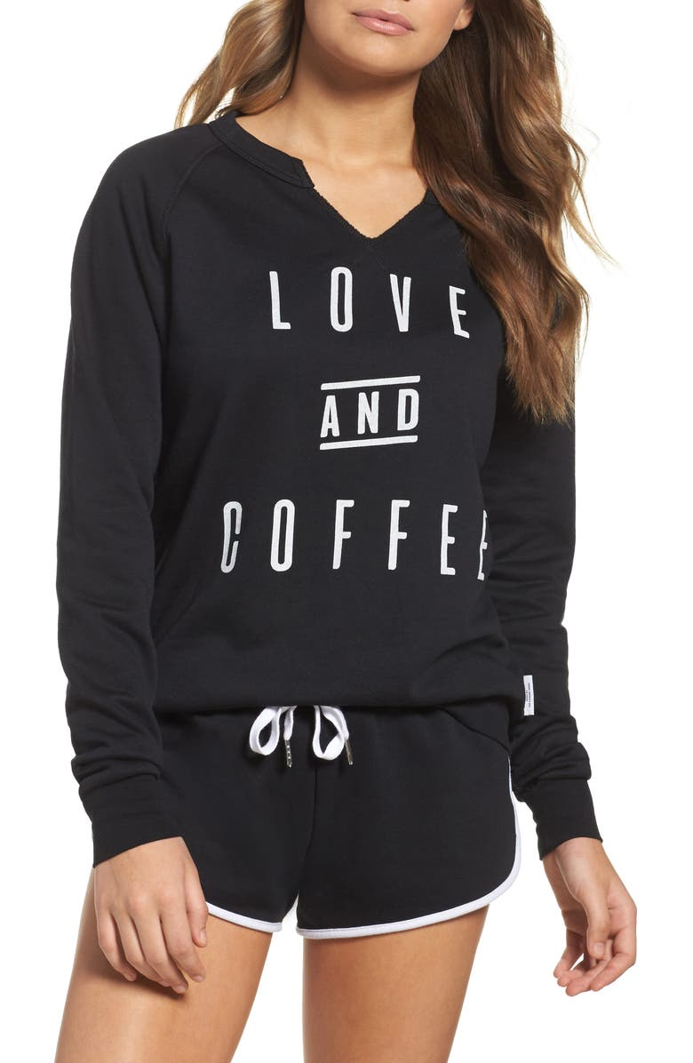 THE LAUNDRY ROOM All You Need Sweatshirt, Main, color, 001