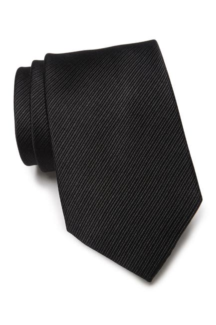 Image of Lauren Ralph Lauren Ottoman Solid Silk Tie