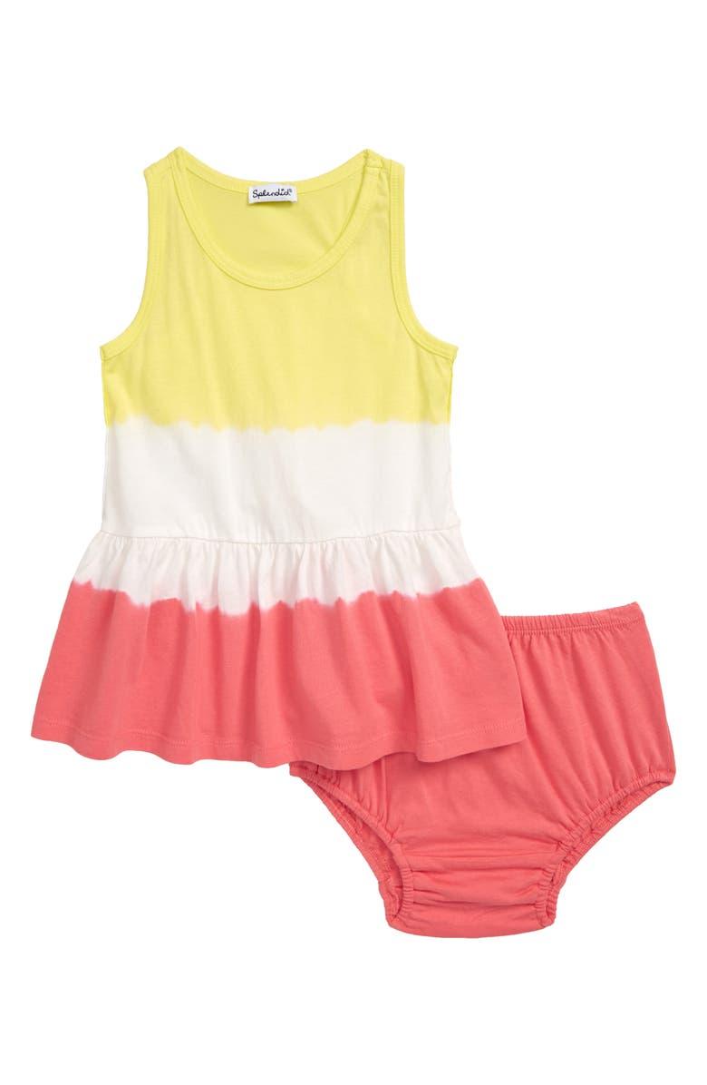SPLENDID Double Dip Dye Dress, Main, color, OPTICE WHITE