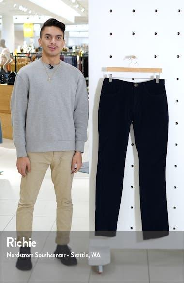 Modern Fit Stretch Corduroy Pants, sales video thumbnail