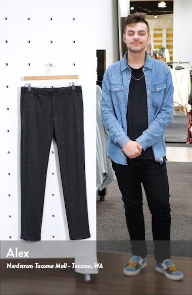 Slim Fit Wool Blend Knit Pants, sales video thumbnail