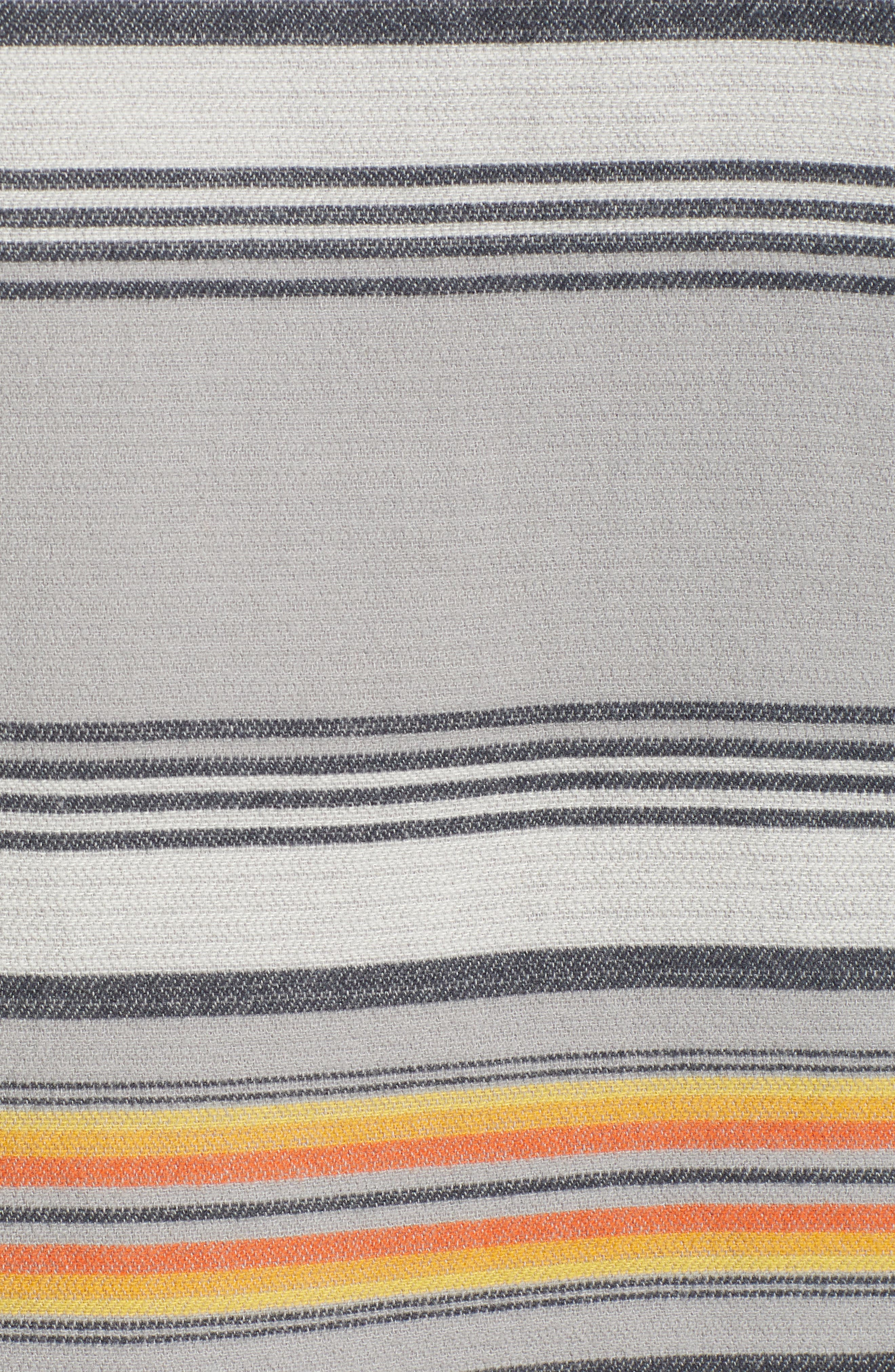 ,                             Serape Stripe Hoodie,                             Alternate thumbnail 5, color,                             GREY STRIPE