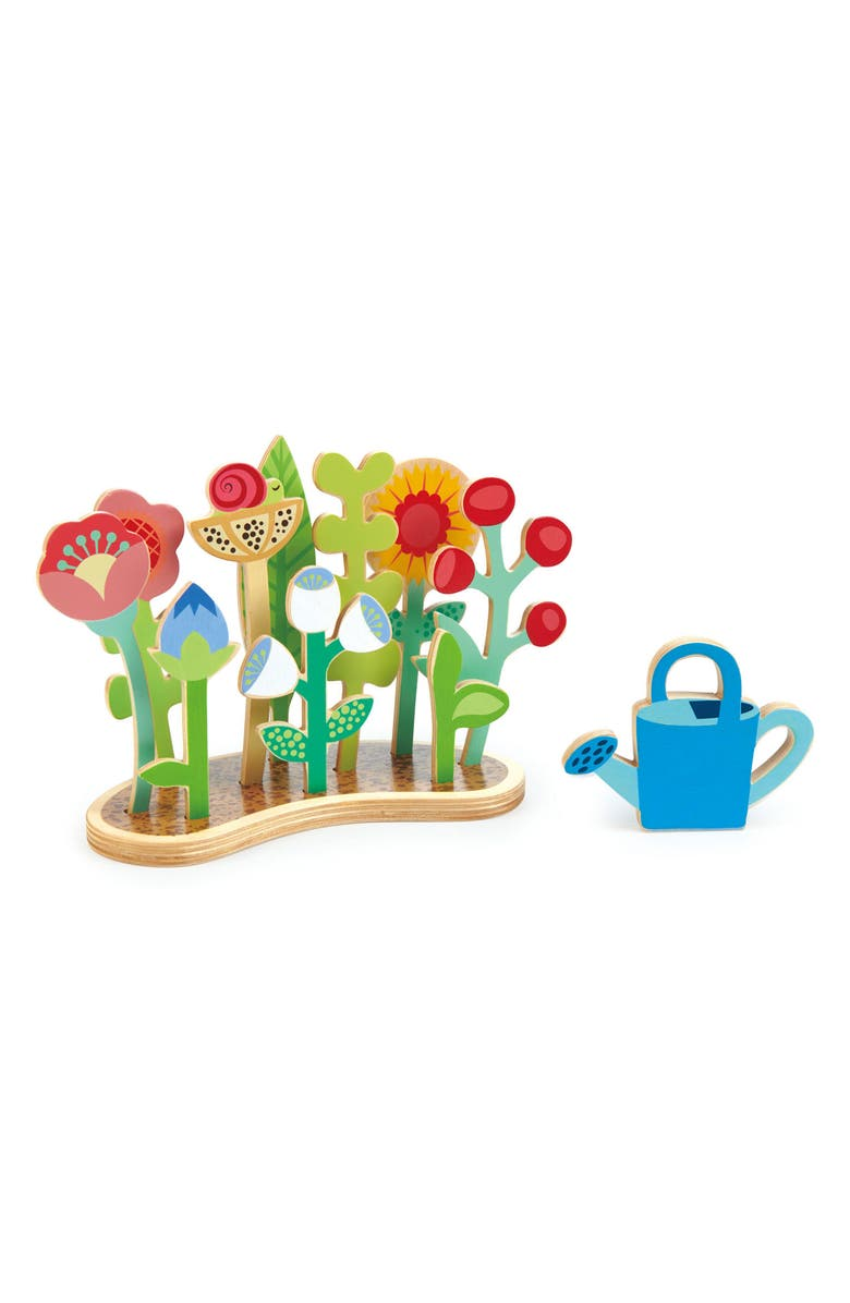 TENDER LEAF TOYS Flower Bed Play Set, Main, color, 101