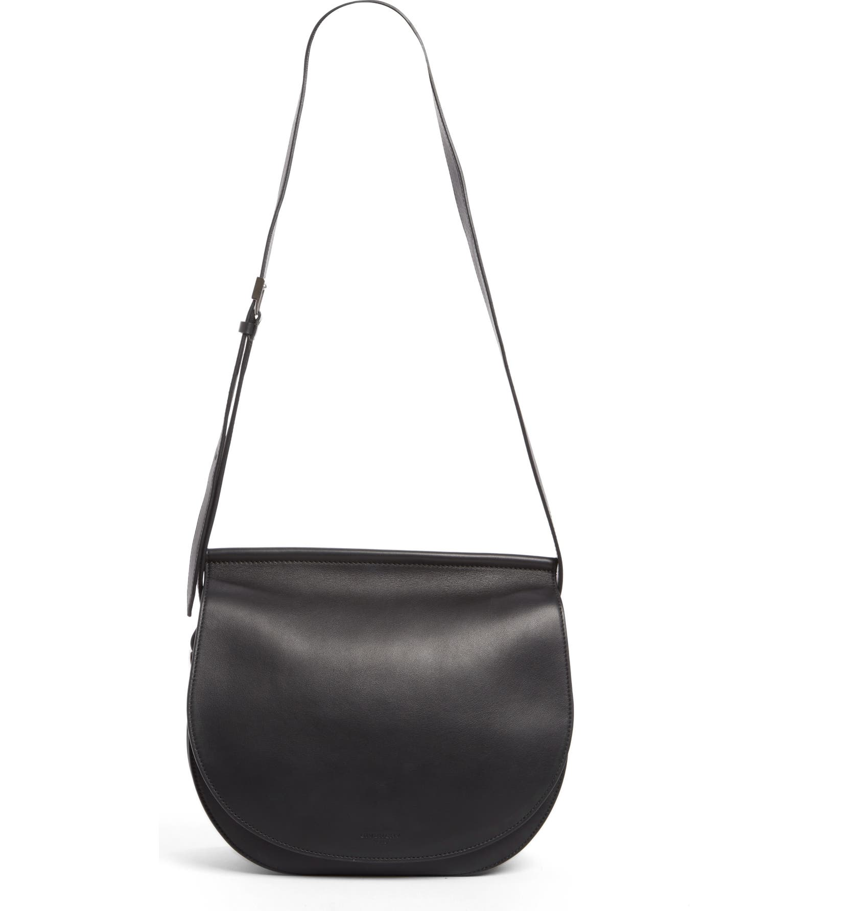 9958c311a0f Givenchy Infinity Calfskin Leather Saddle Bag | Nordstrom