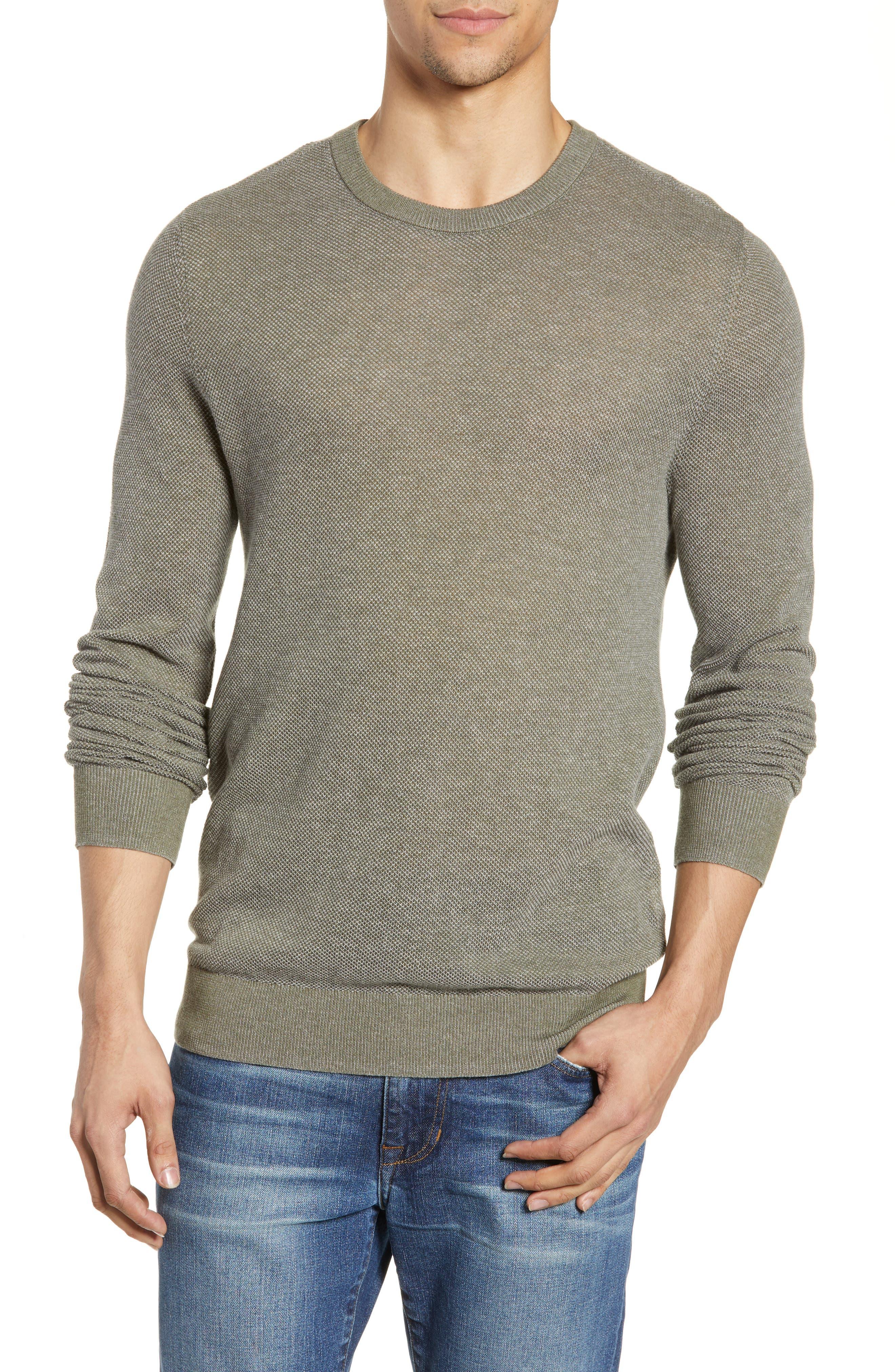 Life/after/denim Knox Regular Fit Crewneck Sweater, Green