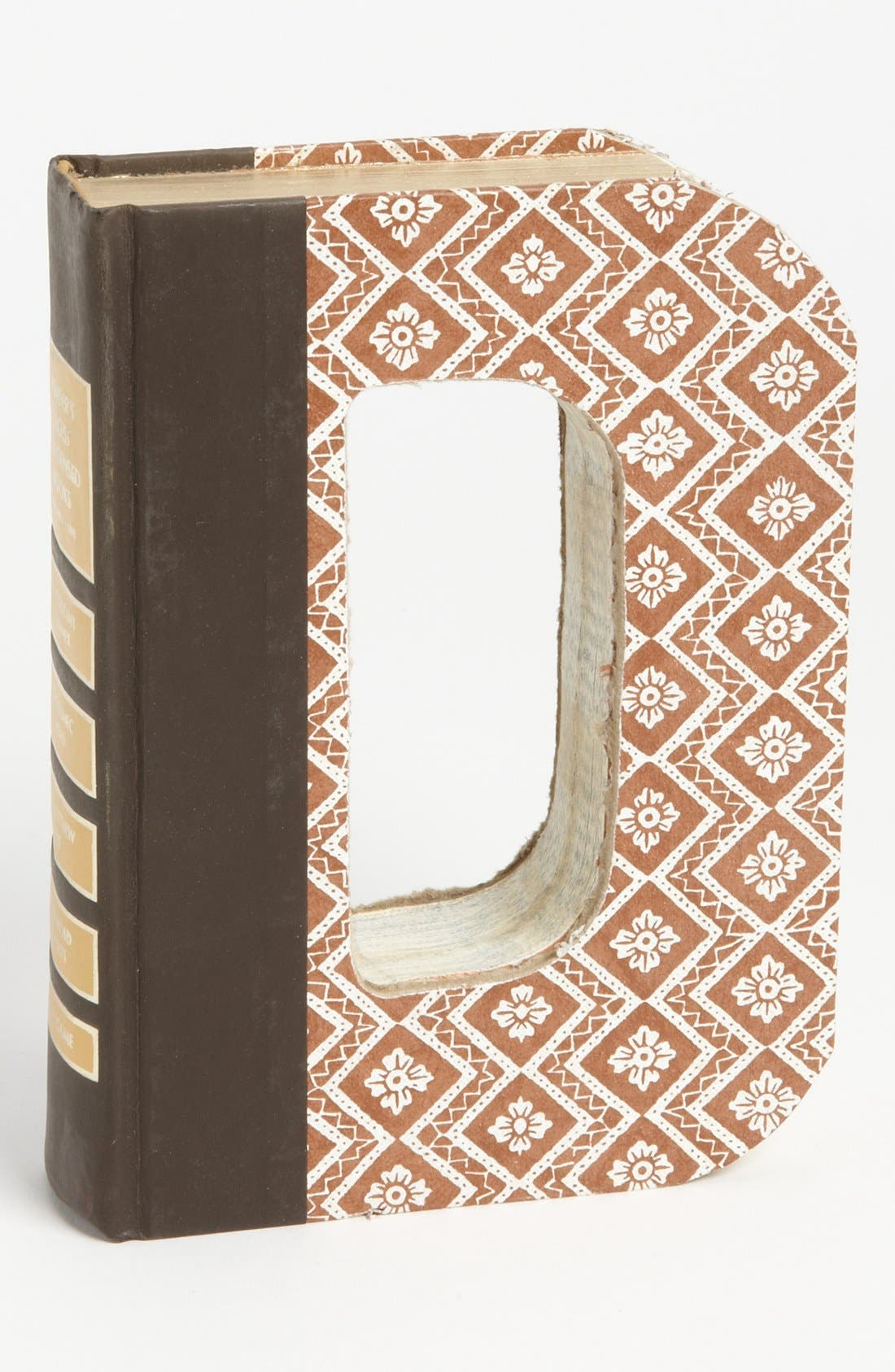 ,                             'One of a Kind Letter' Hand-Carved Recycled Book Shelf Art,                             Main thumbnail 16, color,                             203