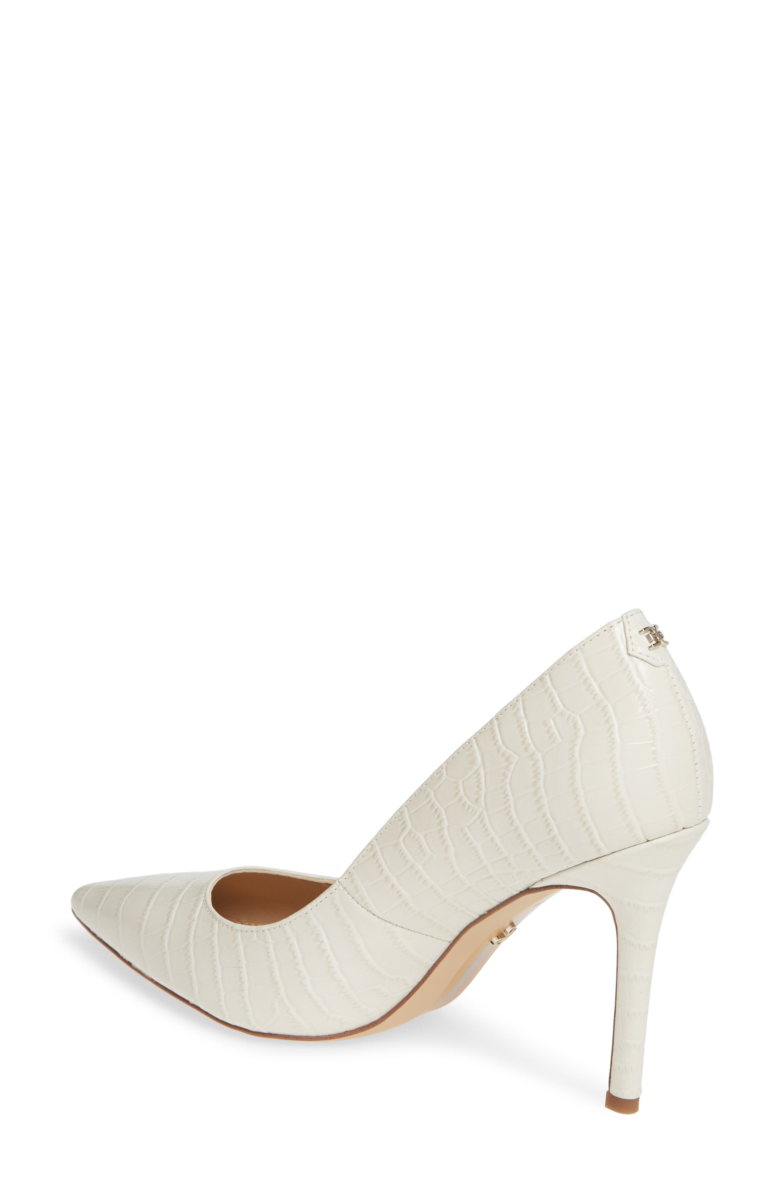 ,                             Hazel Pointy Toe Pump,                             Alternate thumbnail 2, color,                             MODERN IVORY LEATHER