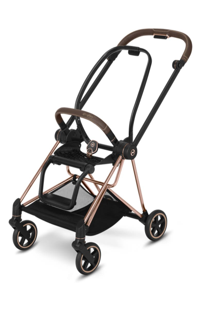 CYBEX Mios Rosegold Stroller Frame, Main, color, ROSE GOLD