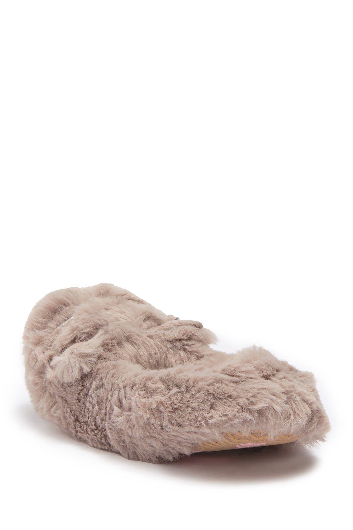 Joules Pippie Faux Fur Slipper