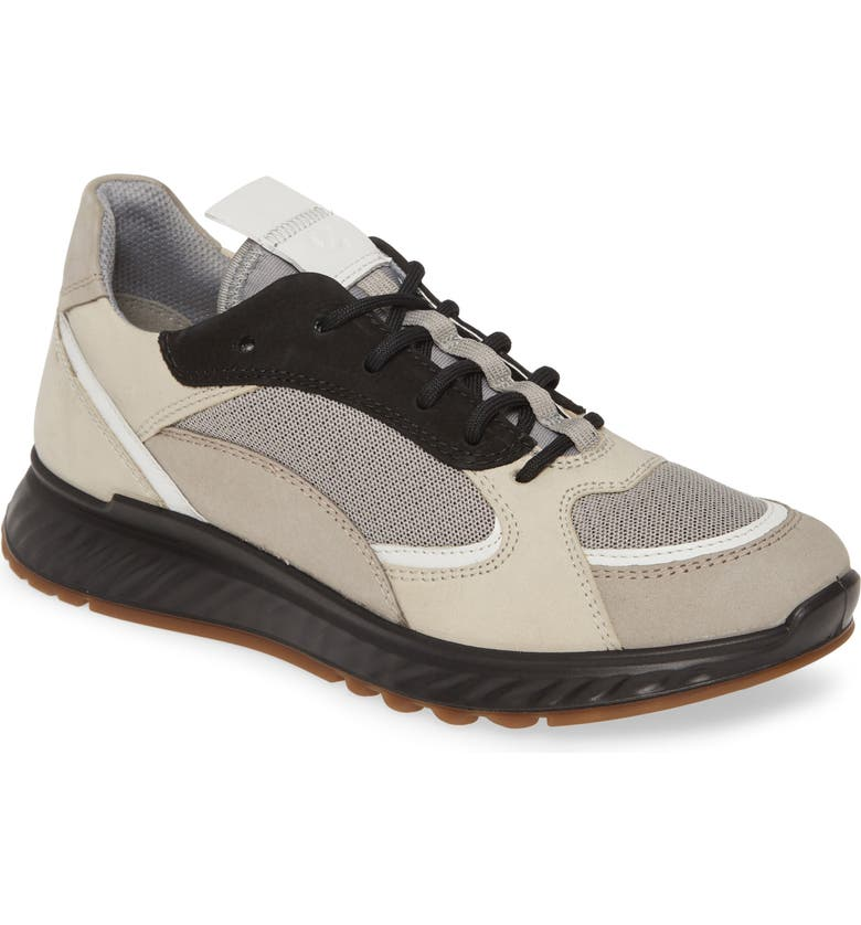 ECCO ST1 Trend Sneaker, Main, color, MOON ROCK/ GRAVEL LEATHER