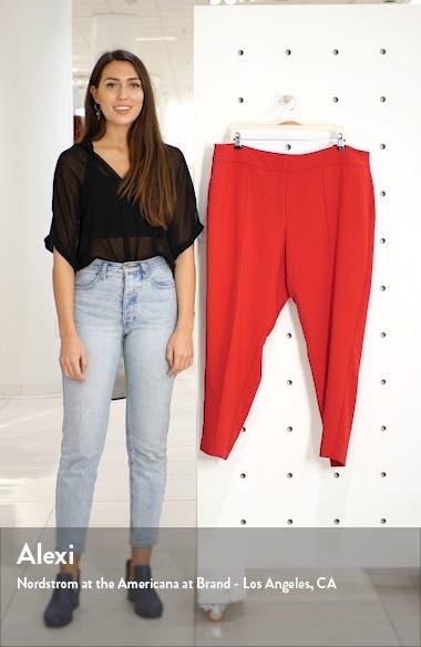 Pintuck Seam Crepe Pants, sales video thumbnail
