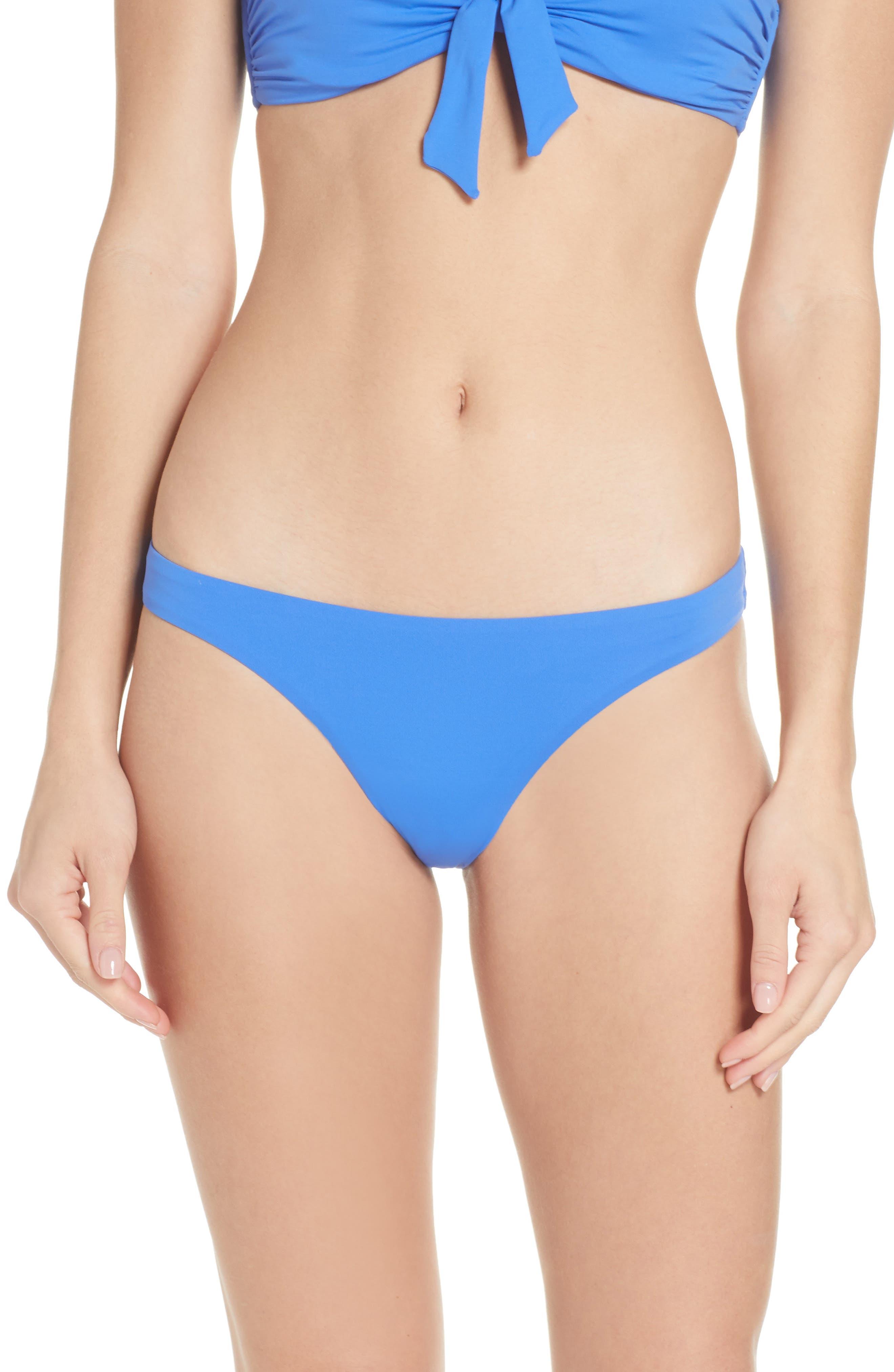 Melissa Odabash Angola Bikini Bottoms, Blue