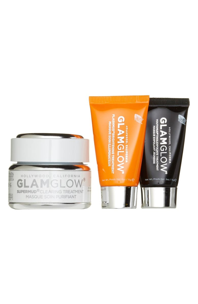 GLAMGLOW<SUP>®</SUP> 'Glamazing SUPERMUD<sup>™</sup>' Set, Main, color, 000