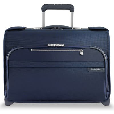 Briggs & Riley Baseline 21-Inch Wheeled Garment Bag - Blue