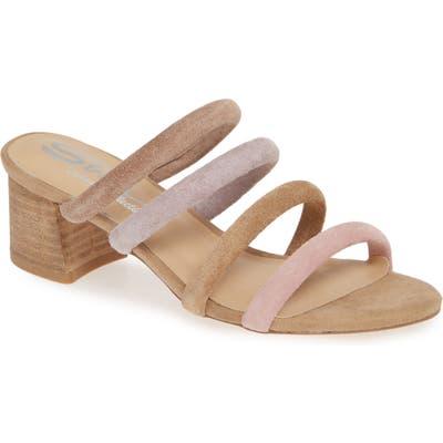 Sbicca Ravia Strappy Slide Sandal, Beige