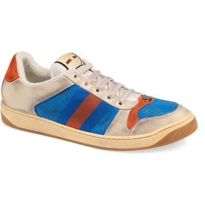 Gucci Screener Low Top Sneaker, Blue