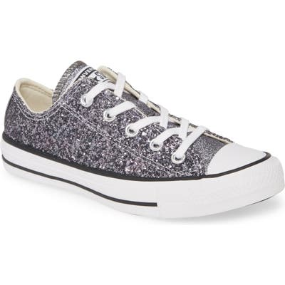 Converse Chuck Taylor All Star Glitter Low Top Sneaker- Metallic