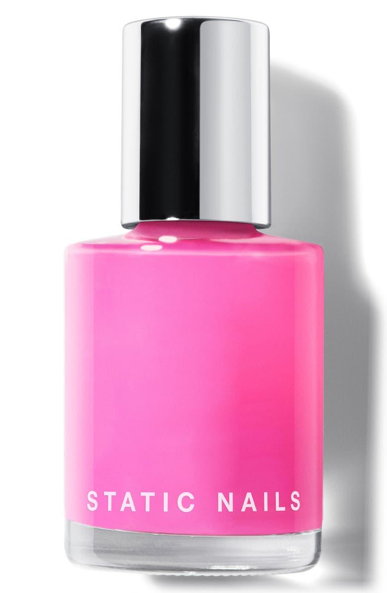 STATIC NAILS Liquid Glass Nail Polish, Main, color, JELLY BOMBER
