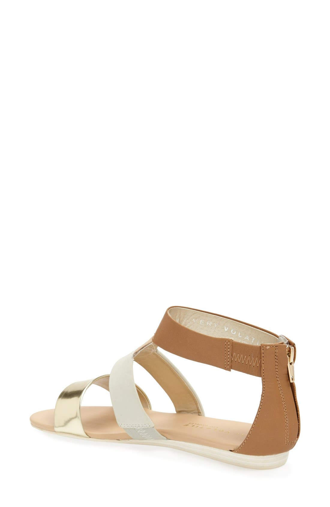 ,                             'Collective' Leather Sandal,                             Alternate thumbnail 6, color,                             230