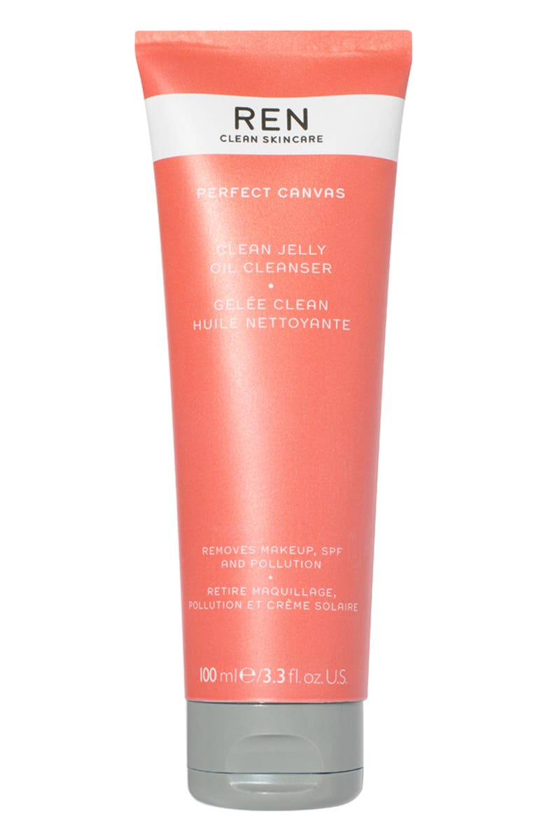REN CLEAN SKINCARE Perfect Canvas Clean Jelly Oil Cleanser, Main, color, NO COLOR