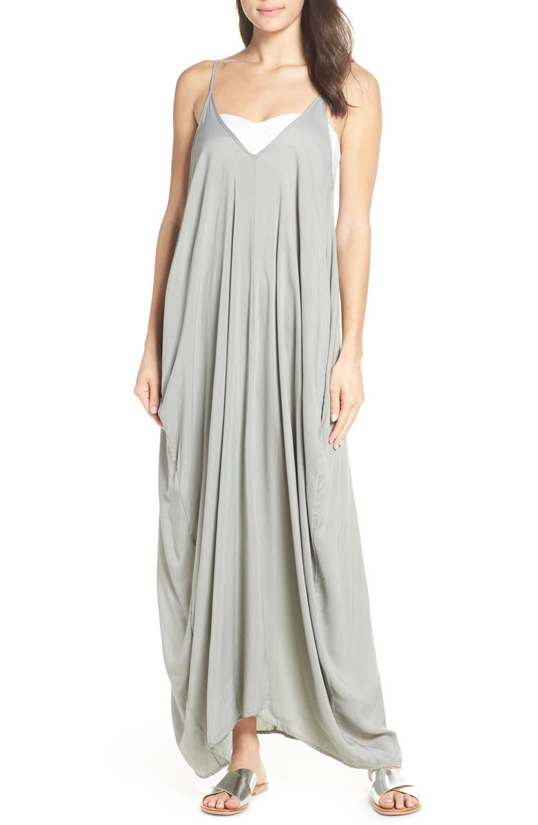 a2302f8081bc3 V-Back Cover-Up Maxi Dress, Main, color, 340