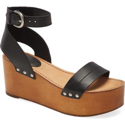 Frye Alva Platform Sandal, Black