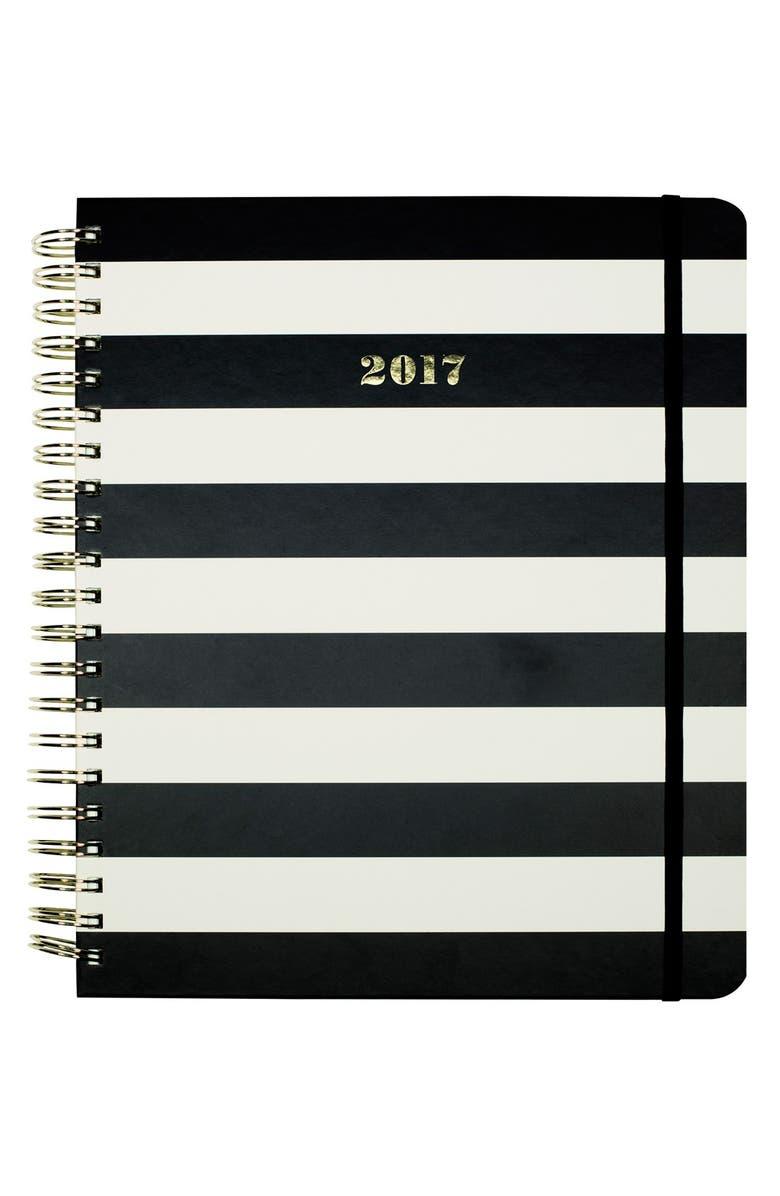 KATE SPADE NEW YORK 'mega' 17-month agenda, Main, color, 001