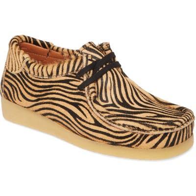 Jeffrey Campbell Husky Genuine Calf Hair Chukka Boot, Brown