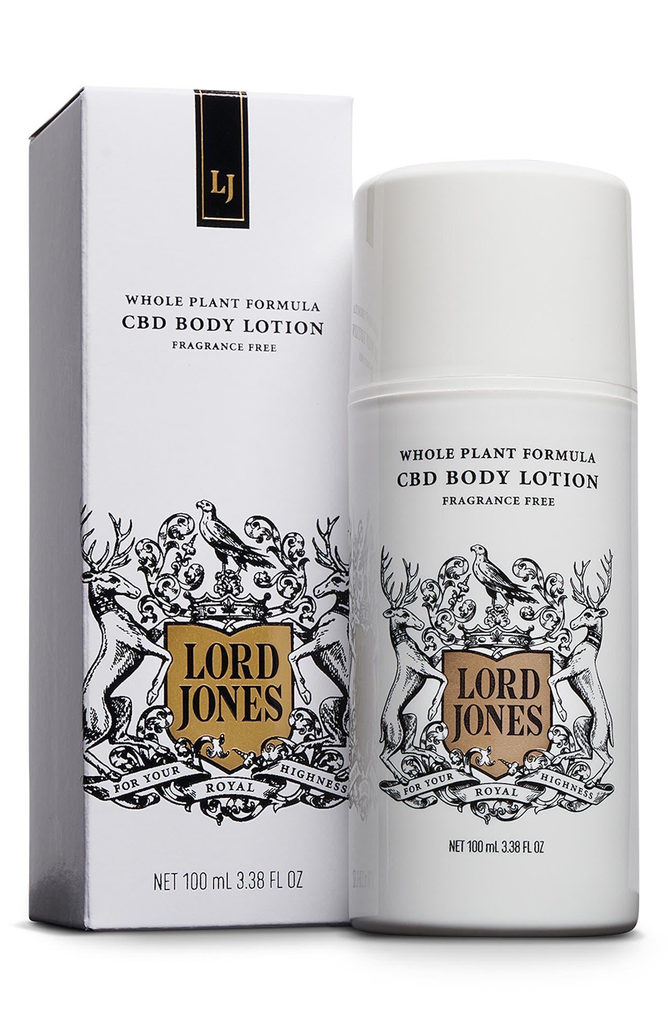Fragrance Free Cbd Body Lotion