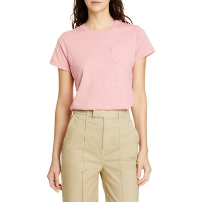 Alex Mill Slub Pocket Tee, Pink