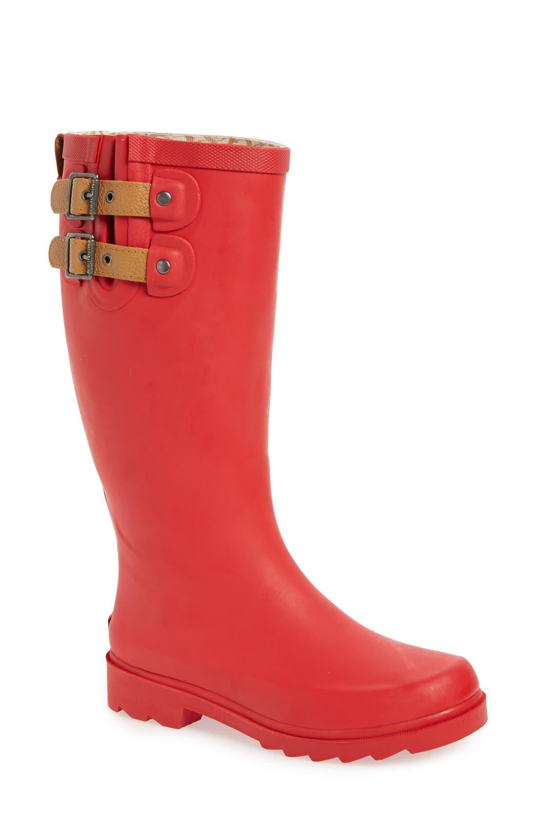 ,                             'Top Solid' Rain Boot,                             Main thumbnail 129, color,                             612