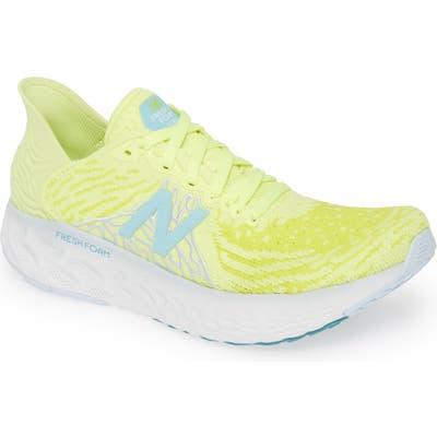New Balance 1080V10 Running Shoe, Yellow