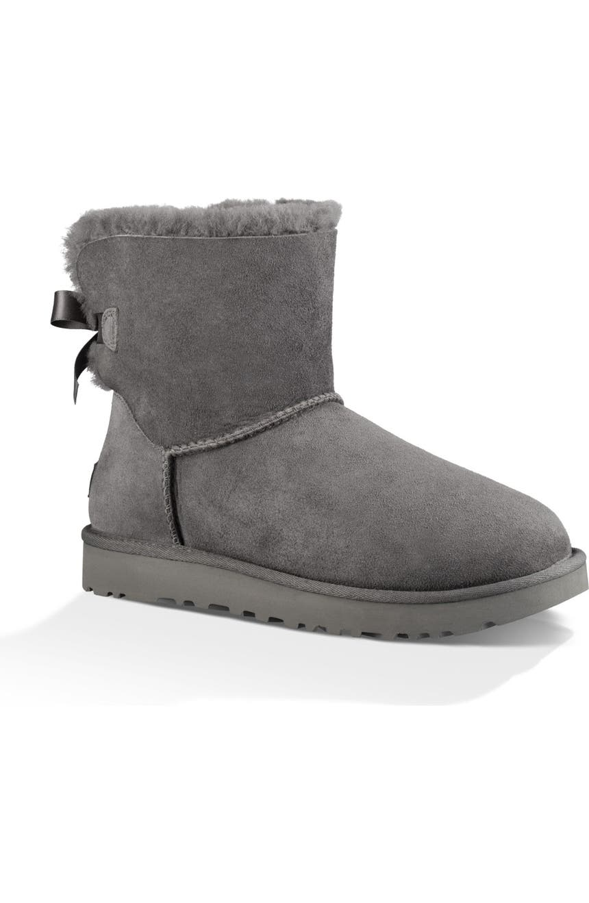 590d5706bdc Mini Bailey Bow II Genuine Shearling Bootie