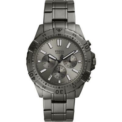 Fossil Garrett Chronograph Bracelet Watch, 4m
