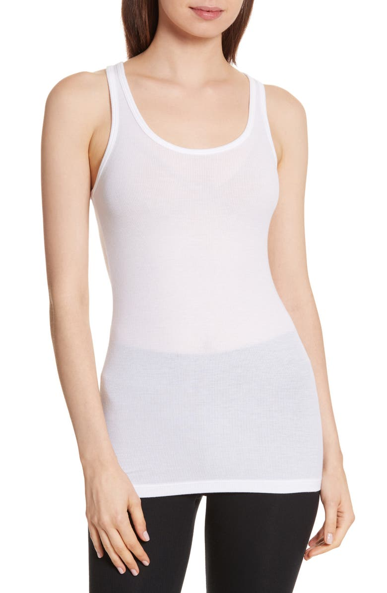 ATM ANTHONY THOMAS MELILLO Micromodal Boy Tank, Main, color, WHITE