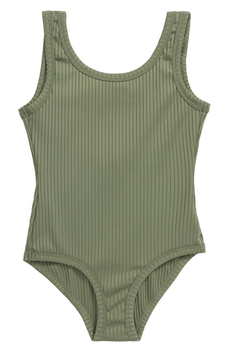 SEED HERITAGE Rib One-Piece Swimsuit, Main, color, 300