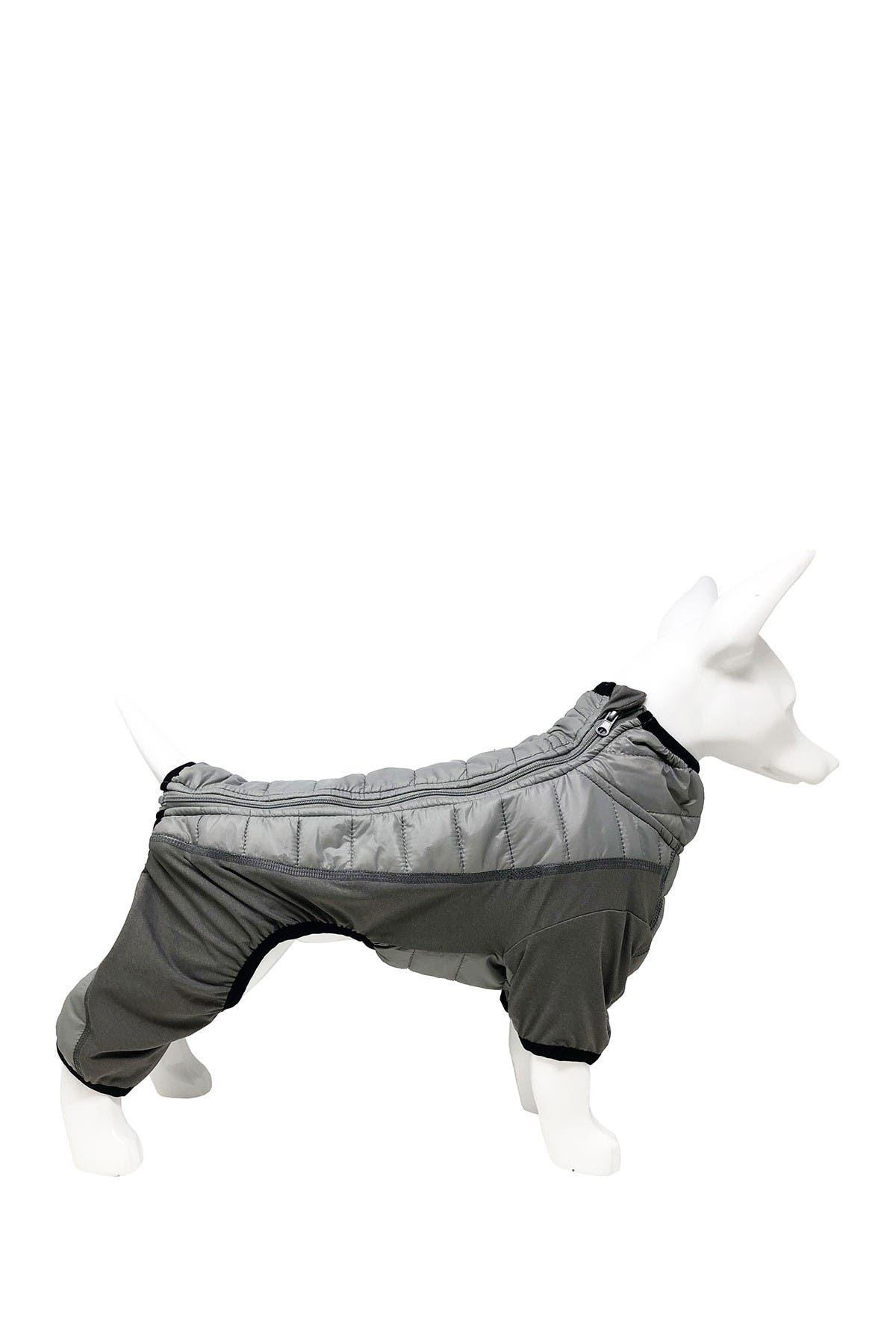 Image of Pet Life 'Aura-Vent' Lightweight 4-Season Stretch & Quick-Dry Full Body Dog Jacket - XL