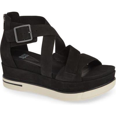 Eileen Fisher Boost Wedge Sandal- Black