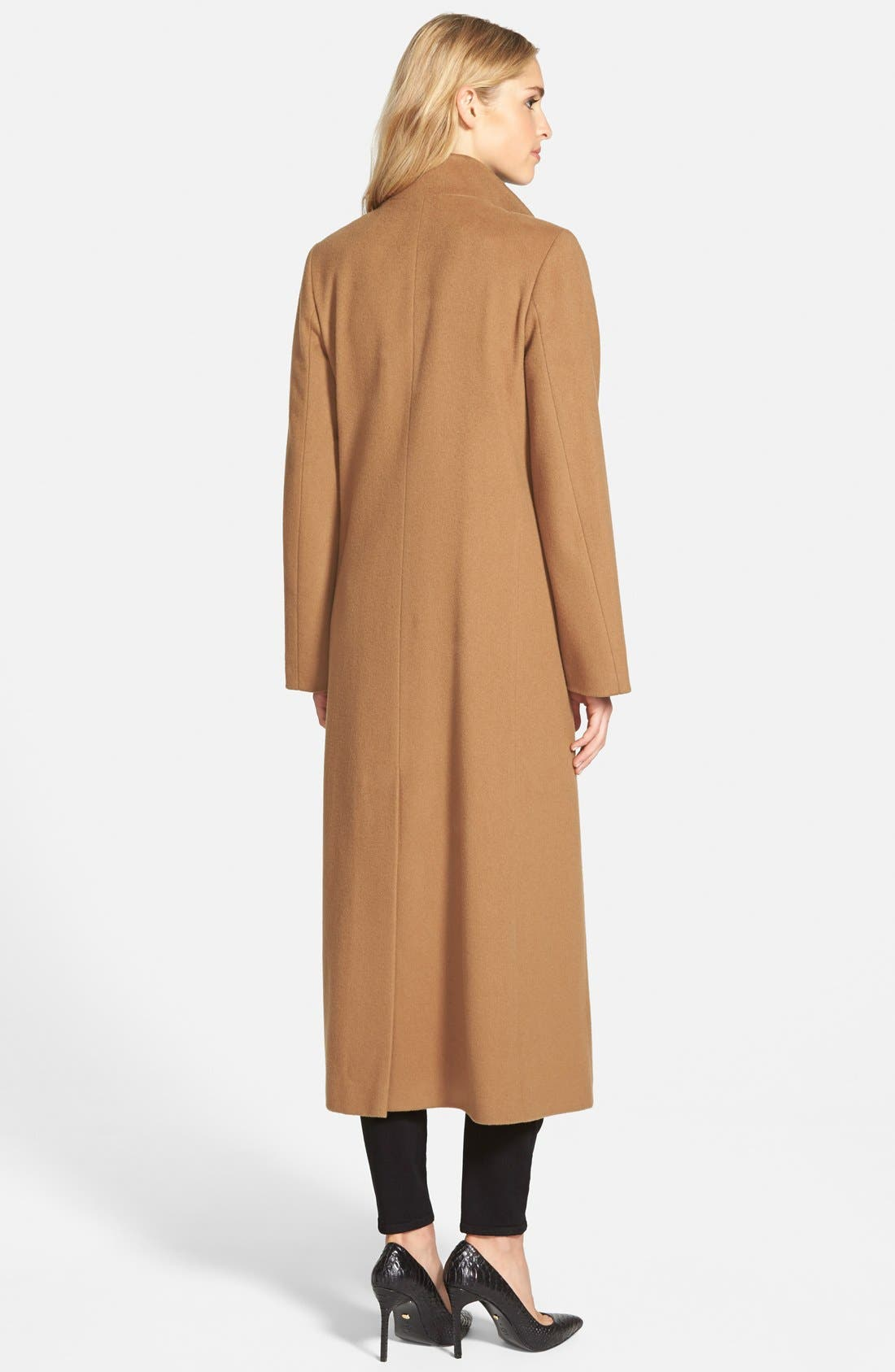 ,                             Long Wool Coat,                             Alternate thumbnail 10, color,                             260