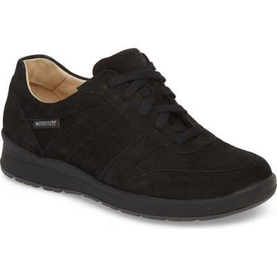 Mephisto Rebecca Perforated Sneaker, Black