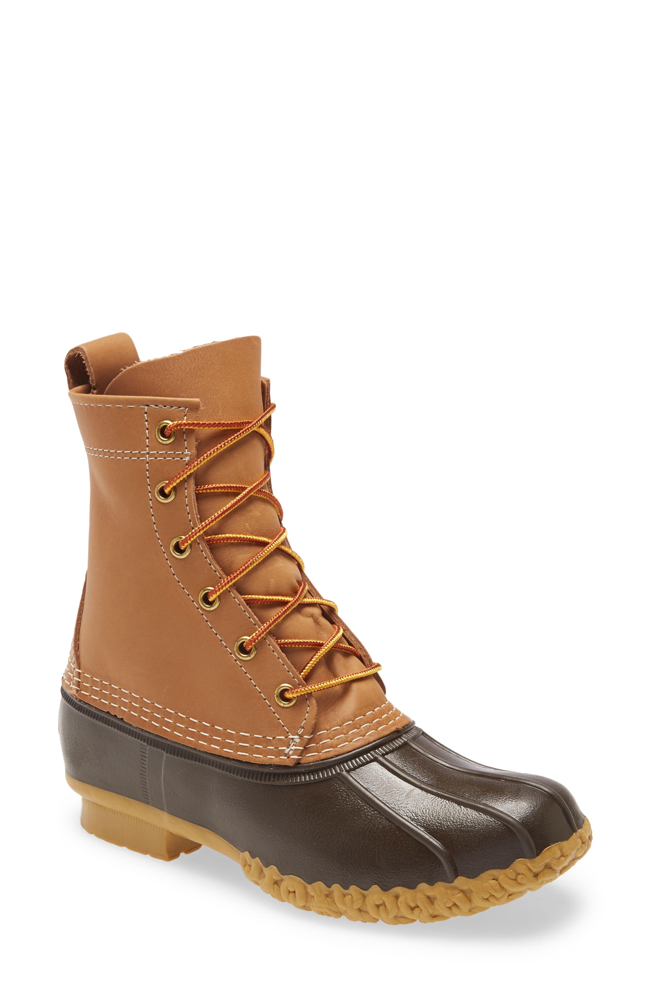 8-Inch Bean Boot