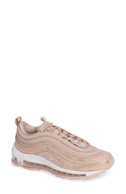 hot sale online e08eb 698ac Air Max 97 Se Sneaker in Beige/ Metallic Red Bronze