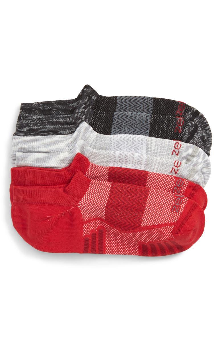ZELLA 3-Pack Ultra Light Running Socks, Main, color, 030