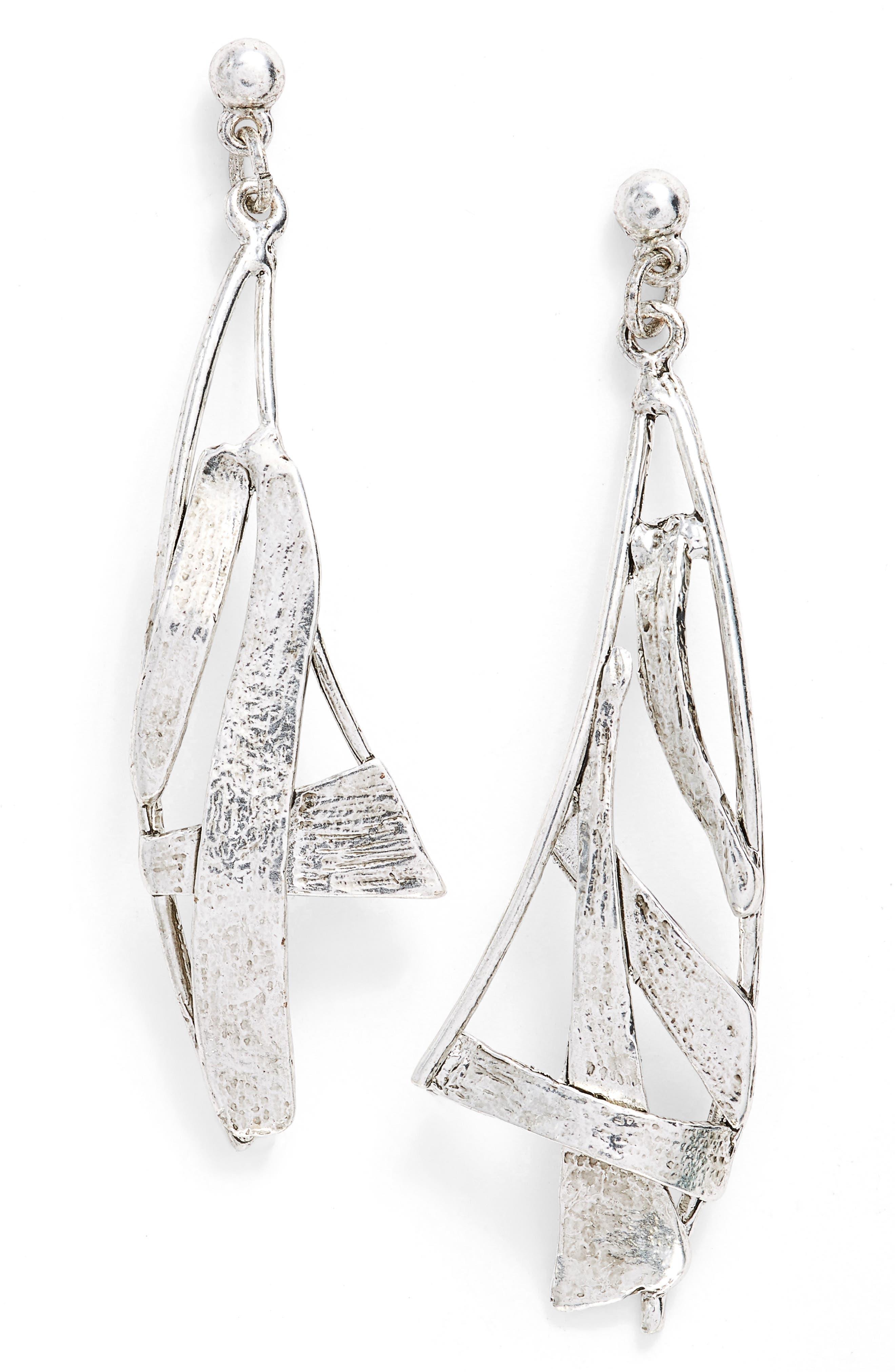 Sail Drop Earrings