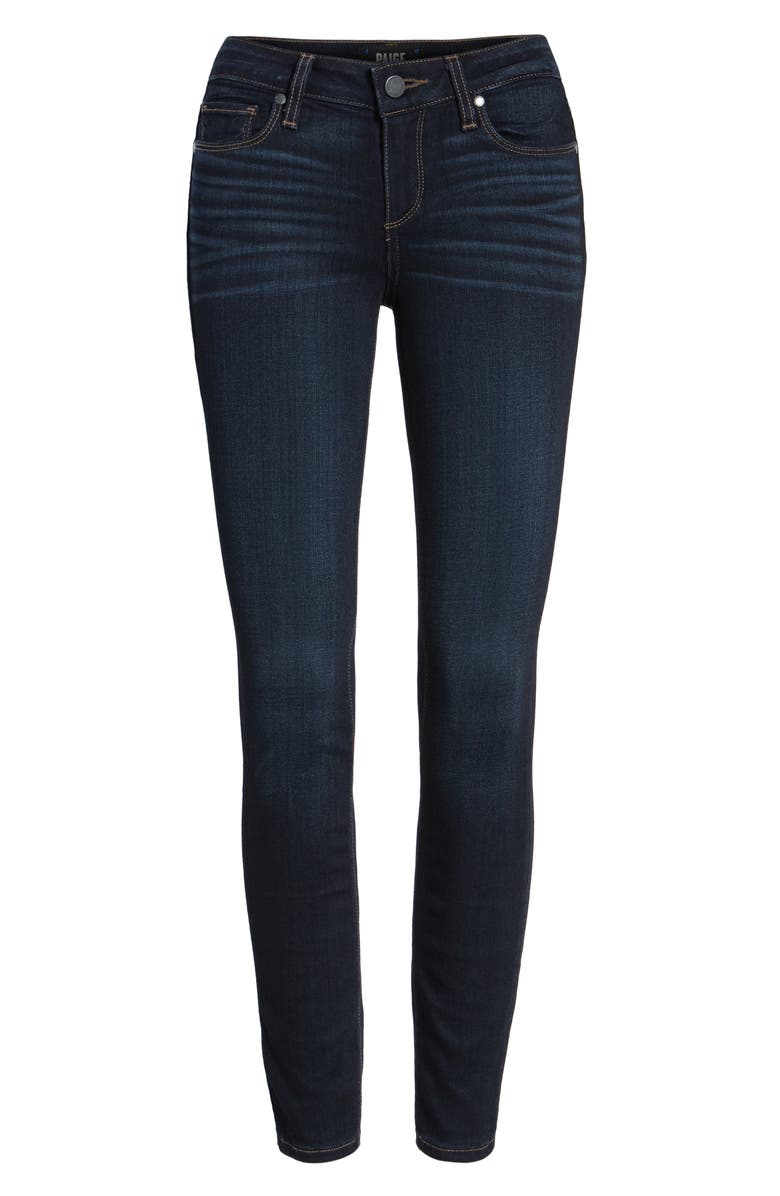 PAIGE Transcend Verdugo Ankle Ultra Skinny Jeans, Main, color, 400