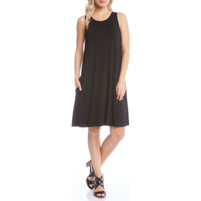 Karen Kane Chloe Swing Jersey Dress, Black