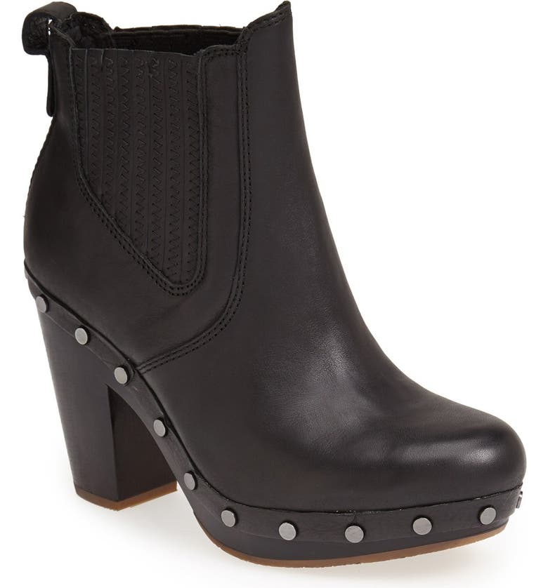 UGG<SUP>®</SUP> Australia 'Carberry' Chelsea Boot, Main, color, 001